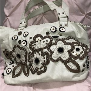 Vintage Nicole Lee Flower Hand bag